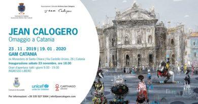 Mostra di Jean Calogero a Catania