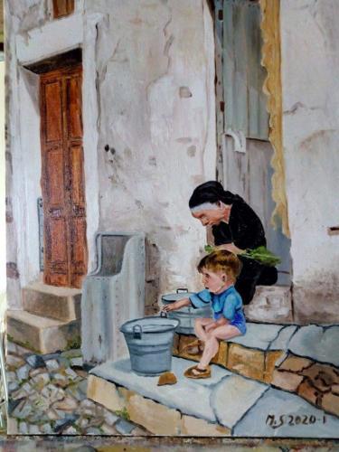 Pittore Salvatore Miserandino