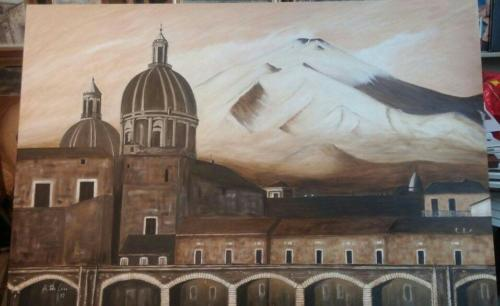 Pittore Antonino De Luca (Catania)