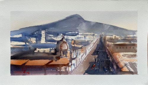 Pittore Simone De Marco (Casteltermini)