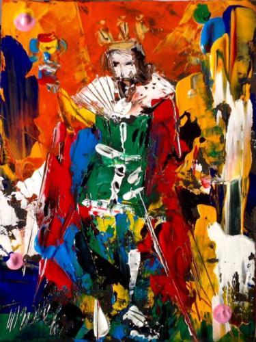 Pittore Francesco Toraldo 13 - re coppe