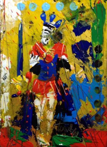 Pittore Francesco Toraldo 49 - re spade