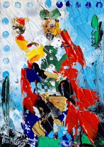 Pittore Francesco Toraldo 51 - re coppe