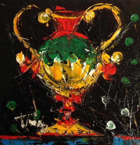 Pittore Francesco Toraldo 52 - asso coppe