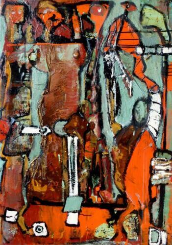 Pittrice Olga Brucculeri - Aion