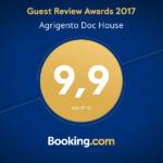 "Certificazione ""Guest Review Award 2017"" – Booking.com"