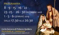 Eventi 2018 Presepe Castelvetrano 01