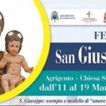 Festa di San Giuseppe dal 11 al 19 marzo 2019