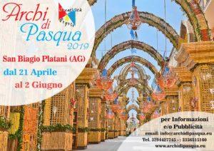 Archi di Pasqua di San Biagio Platani 2019