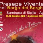 Presepe vivente in Sicilia 2019: Sambuca di Sicilia (AG)