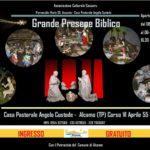Presepe artistico in Sicilia 2019: Grande presepe biblico di Alcamo (TP)