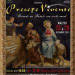 Presepe vivente in Sicilia 2019: Mazzeo – Taormina (ME)