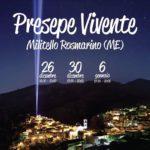 Presepe vivente in Sicilia 2019: Militello Rosmarino (ME)