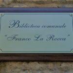 """Biblioteca Comunale """"Franco La Rocca"""""""